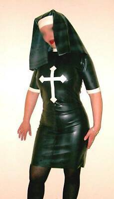 Latex nun outfit all UK sizes available brand new