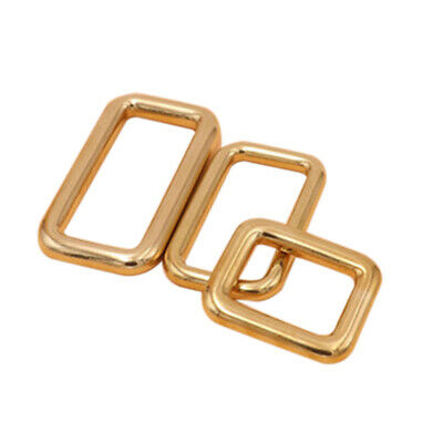 Metal Brass Square Buckle Connecting Ring Hardware DIY Craft Bag Accessory