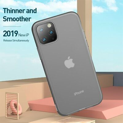Baseus Ultra Thin Transparent Liquid Silicone Case Cover For iPhone 11 Pro Max