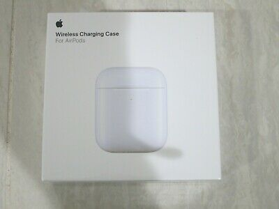 New Apple AirPods 2nd Generation Wireless Charging Case MR8U2AM/A White A1938