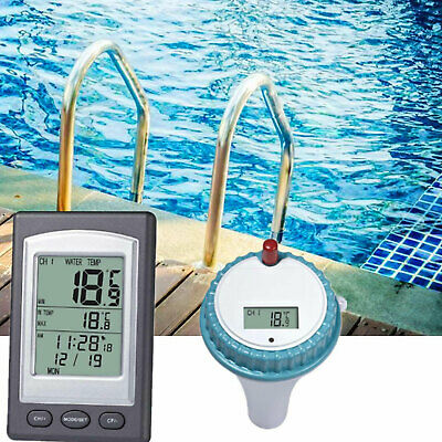 Wireless Floating Thermometer Swimming Pool Pond Spa Water Temperature Kit Tool