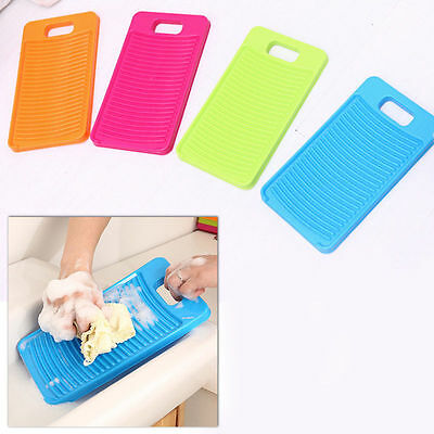 1PC Mini Thicken Antislip Washboard Washing Board Clean Laundry Shirts  ^D 3Q