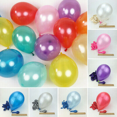 50pcs Thick Latex Colorful Round Air Balloon Birthday Wedding Party Decor Home
