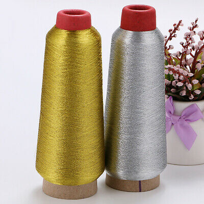 3600m Embroidery Crochet Knitting Spool Sewing Thread Craft DIY Gold/Silver