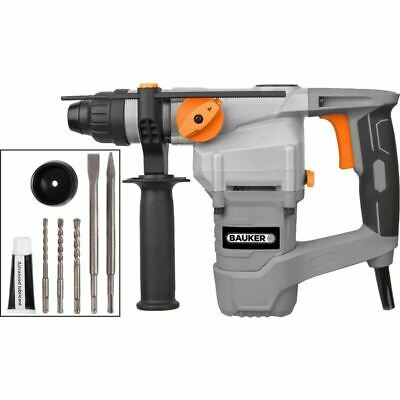 Bauker 1000W 26mm SDS Plus Rotary Hammer Drill Unit Only With Power Lead Grade C