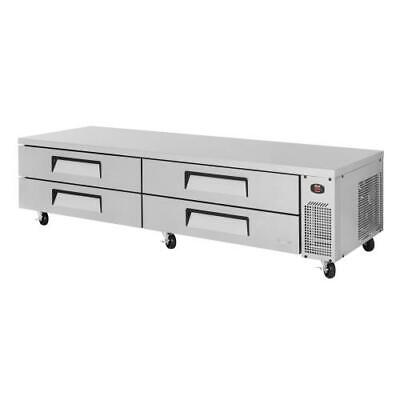 Turbo Air - TCBE-96SDR-N - 4-Drawer 96 in Refrigerated Chef Base