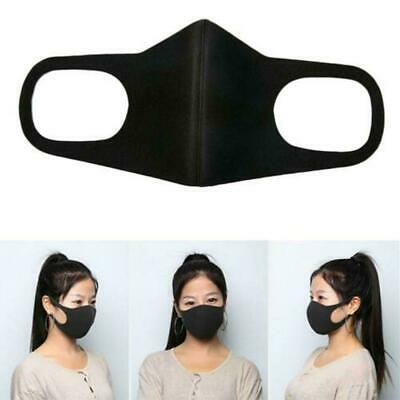 Unisex Anti-pollution Mask Sport Ski Dust Proof Air Filter Face Mask Portable UK
