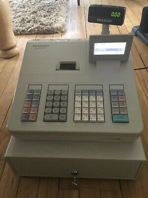 Sharp XEA207W Cash Register/Till.Excellent full working order with instructions