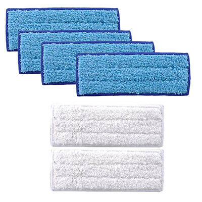 6pcs Mop Cloth Washable And Reusable Mopping Tools For IRobot Braava Jet 240/241
