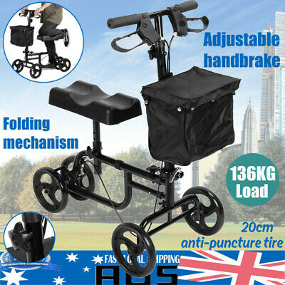 NEW EQUIPMED Knee Walker Scooter Mobility Alternative Crutches Wheelchair AUS