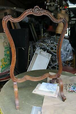 A Gorgeous French Fire Screen with Tapestry Kit - Unfinished Project