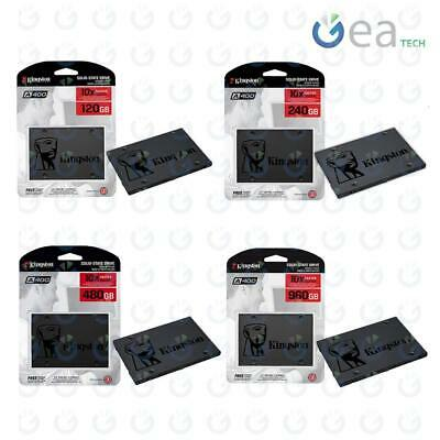 "KINGSTON SSD SA400S37 120Gb 240Gb 480Gb 960Gb 2,5"" SATA 3 Drive a Stato Solido"
