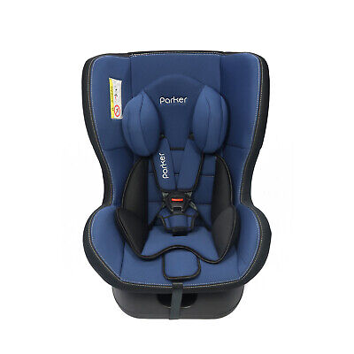 Parker Navy Blue Child Baby Car Seat Ages 0-4 Safety Booster Seat Group 0/1