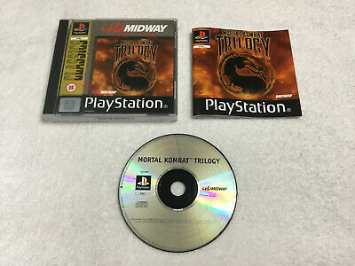 *VGC* Mortal Kombat Trilogy Sony Playstation 1 Boxed & Complete PS1 PAL UK