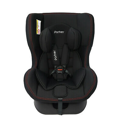 Parker Black Shadow Child Baby Car Seat Ages 0-4 Safety Booster Seat Group 0/1