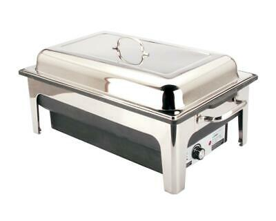 13.5ltrs Luxury Stainless Steel Electric Chafing Dish Chafer Set for Hot Buffets