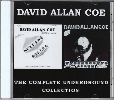 David Allan Coe - Underground - Nothing Sacred - 20 X Rated Songs CD allen
