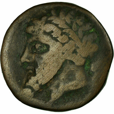[#497795] Coin, Numidia (Kingdom of), Massinissa or Micipsa, Bronze Unit, VF
