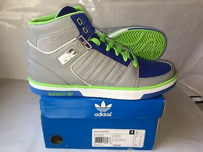 USED WORN SIZE 11.5 Adidas Hardcourt Block Hi Tops