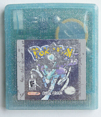 AUTHENTIC Pokemon Crystal Version Can Save New Battery GBC