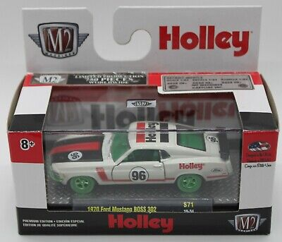 M2 MACHINES O'Reilly Exclusive Holley 1970 FORD MUSTANG BOSS 302 Chase 1 of 750
