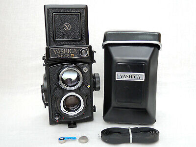 Yashica Mat 124G 6x6 TLR Film Camera W/ Yashinon 80mm F3.5 Excellent+++ from UK