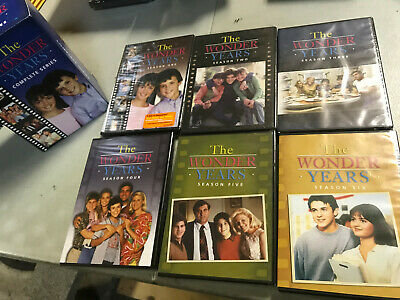 The Wonder Years: The Complete Series Seasons 1 2 3 4 5 6 (DVD, 2016) - NEW!!