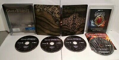 Game of Thrones saison 7 Edition limitée Steelbook Blu Ray Comme neuf + Magnet