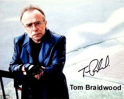 X-FILES Lone Gunmen Tom Braidwood Signed Photo Print Autographed