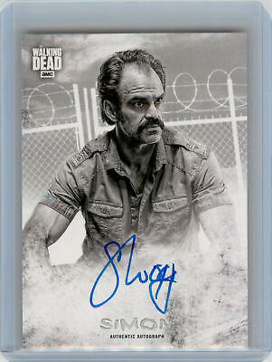2018 Topps Walking Dead Hunters and the Hunted AUTOGRAPH Steven Ogg as Simon