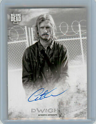 2018 Topps Walking Dead Hunters and the Hunted AUTOGRAPH Austin Amelio as Dwight