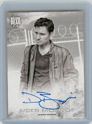 2018 Topps Walking Dead Hunters and the Hunted AUTOGRAPH Daniel Bonjour as Aiden