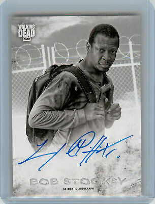 2018 Topps Walking Dead Hunters and the Hunted AUTOGRAPH Lawrence Gilliard Bob