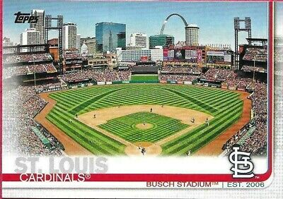 2019 Topps St. Louis Cardinals Series 1 And 2 Team Set, 25 Cards