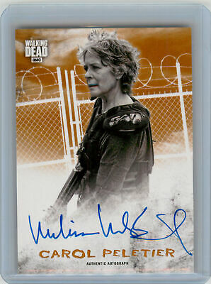 2018 Topps Walking Dead Hunters Hunted AUTOGRAPH Melissa McBride as Carol #71/99