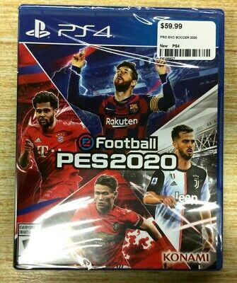 NEW eFootball PES 2020 (Pro Evolution Soccer 2020) PS4 PLAYSTATION 4 SHIPS FAST!