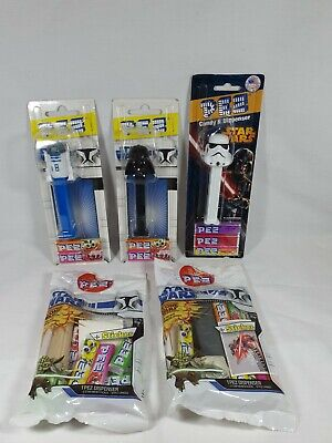 Star Wars Pez Dispenser Bundle Lot Pez 2013 Aus Seller