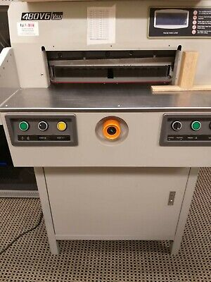 Electric Paper Guillotine 480 V6 V8.0 Delivery available to Sydney metro