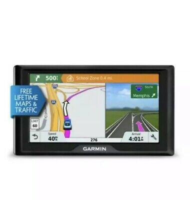 "Garmin Drive 61Lm 6.1"" Gps Navigation System - Lifetime Maps - 1 Yr Warranty"