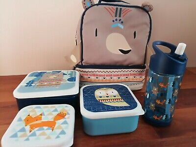 Boys Cooler Bag And Drink Bottle Set