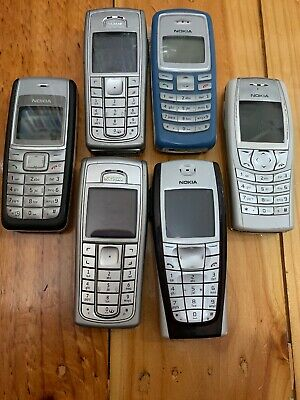 Bulk Lot Of NOKIA Mobille Phones Untested