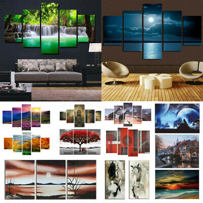 Huge Modern Abstract Canvas Print Painting Picture Wall Mural Hanging Home   C