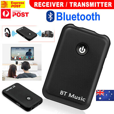 HIFI Bluetooth Wireless 2 in1 Audio Music Transmitter Receiver 3.5MM RCA Adapter