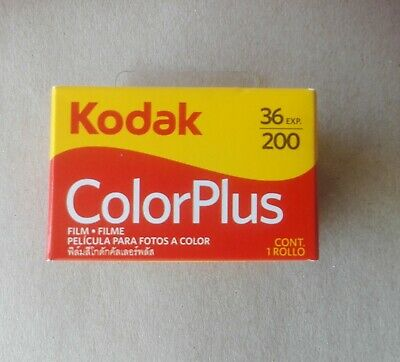 Kodak Film Roll Colorplus 200,36 Exp Made In Usa Expiry:june /2021: Qty: 1 Roll