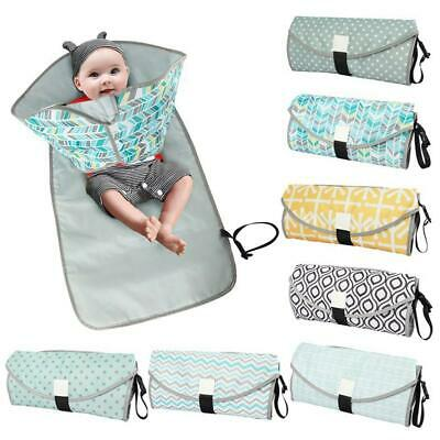 Foldable Washable Baby Waterproof Portable Travel Nappy Diaper Changing Mat Top