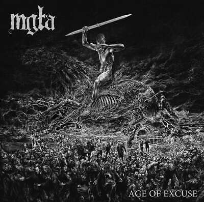 Mgla Age of Excuse CD 2019 New Album + T-Shirt All Size Limited Black Metal Ltd