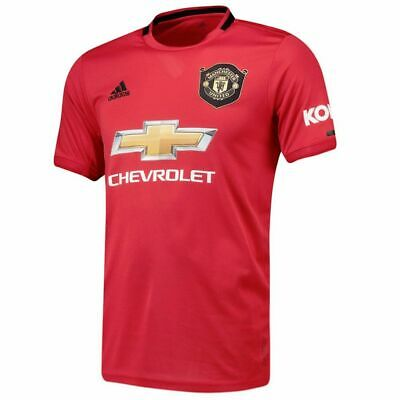 Manchester United Shirt Home 2019/20 Football T Shirt Adults