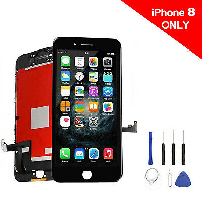 For iPhone 8 Display Touch Screen LCD  Digitizer Assembly Replacement Black