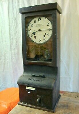 Industrial Clocking In and Out Clock