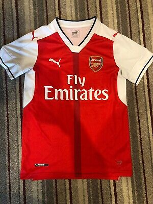 Arsenal 2016/17 Authentic Home Shirt - Men's Small